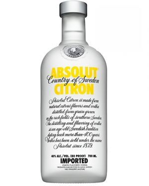 Absolut Vodka Citron 0,70LTR