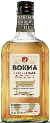 Bokma Bourbon Cask 5 YO Graanjenever 0,70LTR