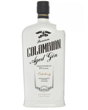 Colombian Aged Gin Dictador Ortodoxy 0,70LTR