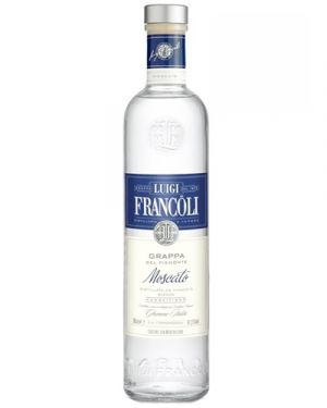 Francoli  Grappa Moscato 0,70LTR