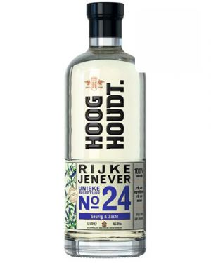 Hooghoudt Rijke Jenever no. 24 0,70LTR