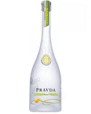 Pravda Citron Vodka 0,70LTR
