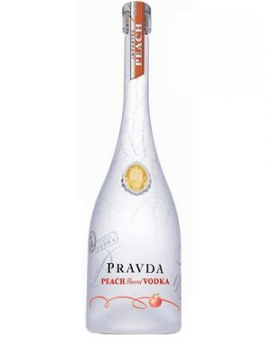 Pravda Peach Vodka 0,70LTR