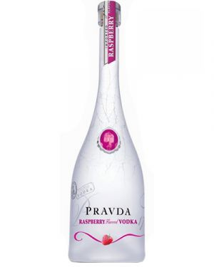 Pravda Raspberry Vodka 0,70LTR