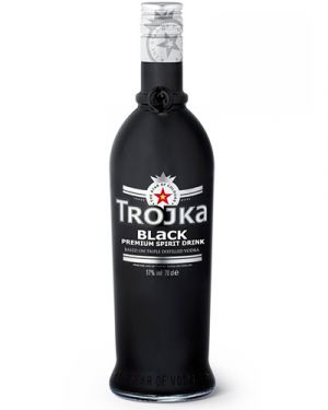 Trojka Vodka Black 0,70LTR