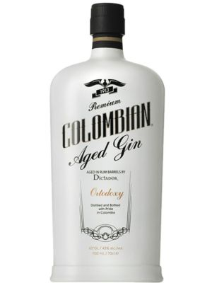 Colombian Aged Gin Dictador Ortodoxy White 0,70LTR