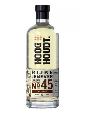 Hooghoudt Rijke Jenever no. 45 0,70LTR