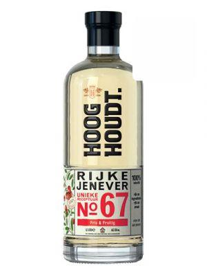 Hooghoudt Rijke Jenever no. 67 0,70LTR
