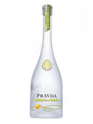 Pravda Citron Vodka 0,70LTR