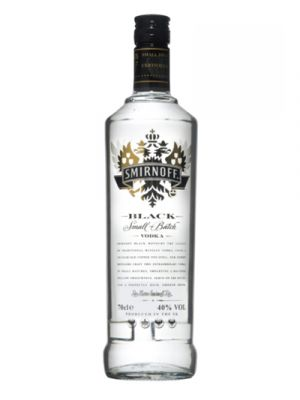 Smirnoff Black Vodka 1LTR