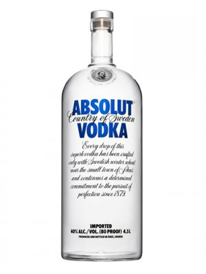 Absolut Vodka Blue 4,5LTR