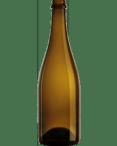 Blond bier zonder etiket 75CL