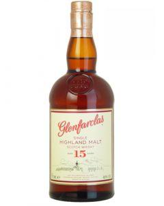 Glenfarclas 15 years Single Malt 0,70LTR