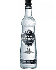 Gorbatschow Black Vodka 0,70LTR