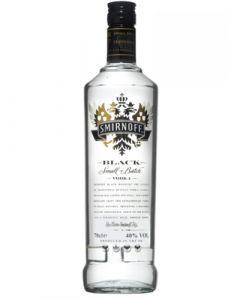 Smirnoff Black Vodka 1LTR