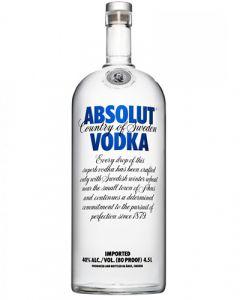 Absolut Vodka Blue 4,5LTR